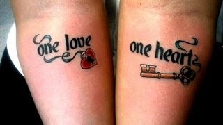 Couples With Awesome Matching Tattoos - Awesome Tattoo Designs - Best Tattoo Ideas