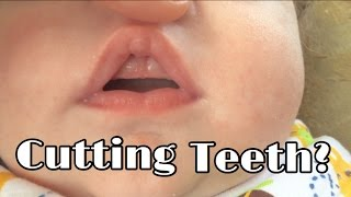 2 MONTH OLD TEETHING?!