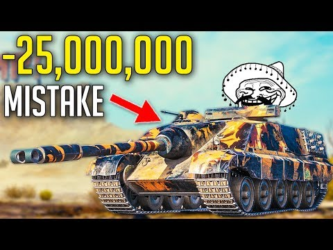 New Most Expensive Tank for 25,000,000 Credits ► World of Tanks AMX 50 Foch 155