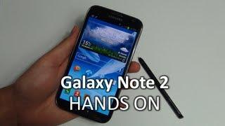 Hands-On: Samsung Galaxy Note 2 | SwagTab