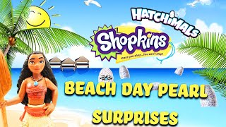 Disney Moana Beach Day LOL Pearl Surprises! Fearuring Shopkins, Hatchimals, and Mystery Prizes!