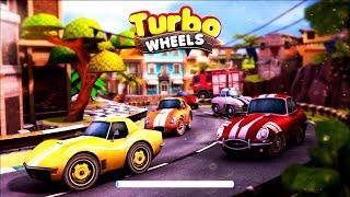 МАШИНКИ ТУРБО КОЛЕСА TURBO WHEELS #1 гонки на тачках МОНСТР ТРАКИ kids games cars игра как мультики