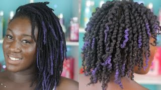 HowTo | Candy Curl Loc Style | Loc Shadowing