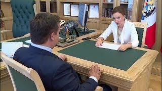 Уполномоченный при Президенте РФ по правам ребенка Анна Кузнецова посетила Новгородскую область