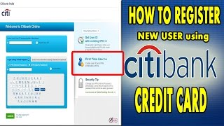 How to Register CITI BANK CREDITCARD LOGIN | CITI BANK | Digital hub9