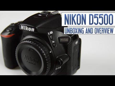 Nikon D5500 DSLR Unboxing & First Look