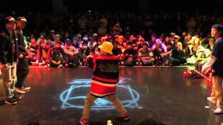 XXIV CLAN(世界 & Toyotaka) vs SORA & Kai→ BEST8 HIPHOP / JUSTE DEBOUT JAPAN 2016