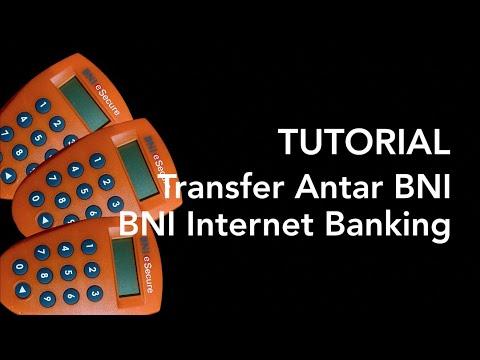BNI Internet Banking - Transfer Antar Bank BNI