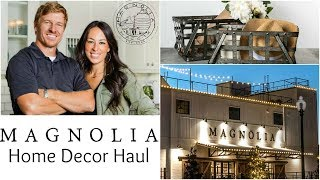 MAGNOLIA FARMHOUSE DECOR HUGE HAUL | CHIP And JOANNA | HGTV FIXER UPPER | WACO TEXAS