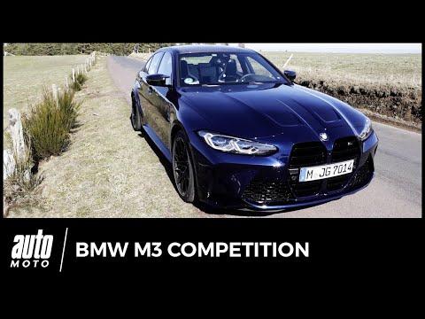 Essai Nouvelle BMW M3 Compétition : premier test route et circuit