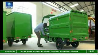 Femi Oye Builds Electric Tricycles In Lagos |Eco@Africa|