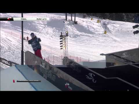 O'Neill Evolution 2013 - Women's Big Air Finals
