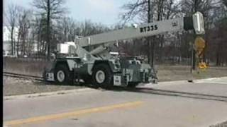 Learn How to Operate the Friction Drive 35 Ton RT Crane | Mitchell Rail Gear