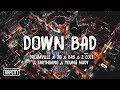 Dreamville - Down Bad (Lyrics) ft. JID, Bas, J. Cole, EARTHGANG & Young Nudy