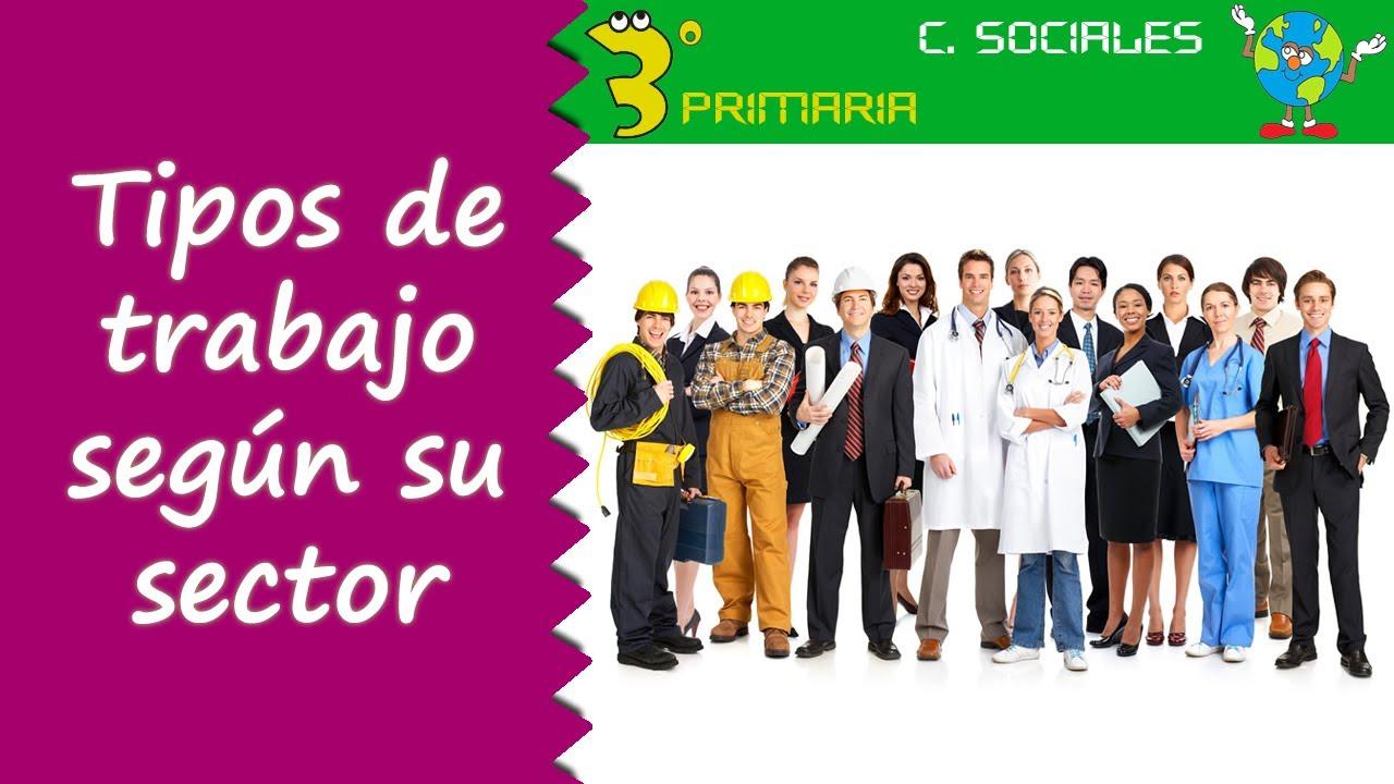 Ciencias Sociales. 3º Primaria. Tema 5. Tipos de trabajo según su sector