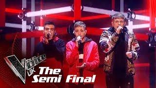 NXTGEN's 'Embrace' | The Semi Finals | The Voice UK 2019