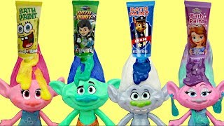 Dreamworks TROLLS Movie Bath Time Paint Tub, Orbeez Magic Water Balls, Bubble Toy Poppy Branch /TUYC