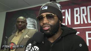 A mature Adrien Broner feels Adrien Granados is no push over & will bring the best out of him