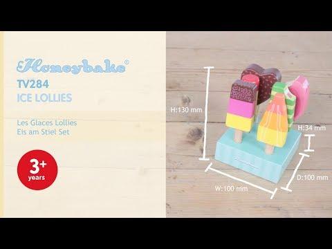 Le Toy Van Wooden Ice Lollies & Popsicles