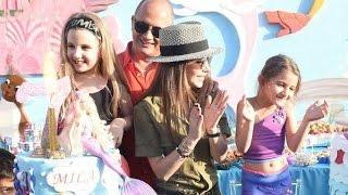 Nancy Ajram Daughters Birthday Party - نانسی عجرم مع عائلتها فی عيد الميلاد بنات میلا و ایلا