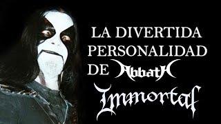 La divertida personalidad de Abbath - Immortal