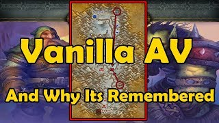 Vanilla Alterac Valley And Why Its Remembered - WCmini Facts