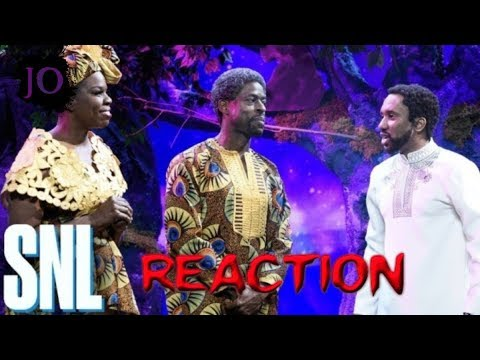 Black Panther New Scene - SNL - Reaction