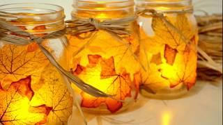 2017 Fall Wedding Candle Centerpiece Ideas 2