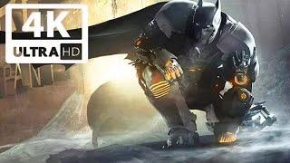Batman: Arkham Origins Cold Cold Heart All Cutscenes (Game Movie) 4K 60FPS UHD