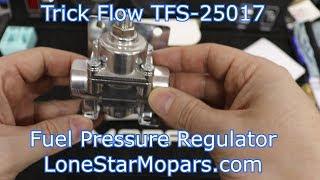 Unboxing Trick Flow Specialties TFS-25017 Fuel Pressure Regulator