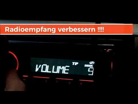 Scheibenantenne Einbau /TUTORIAL FM BLAUPUNKT //Schlechter Radioempfang ? bad radio reception