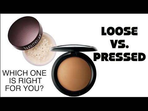 Loose Setting Powder vs Pressed Powder
