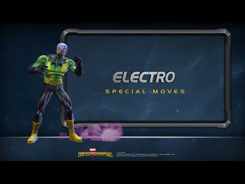 Electro's Special Moves