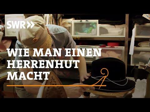 Handwerkskunst! Wie man einen Herrenhut macht | SWR Fernsehen