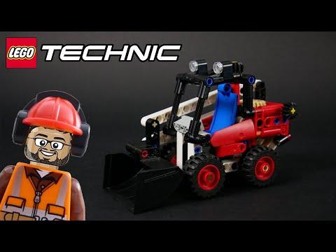 Vidéo LEGO Technic 42116 : Chargeuse compacte