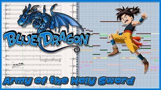 "New Transcription: ""Army of the Holy Sword"" from Blue Dragon (2006)"