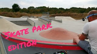 Skate park flow fpv freestyle