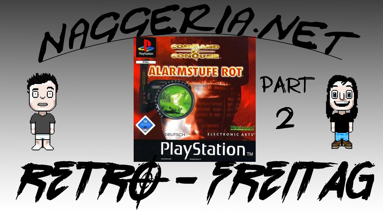 [Retro-Freitag] Command & Conquer: Alarmstufe Rot (PS1) – PART 2