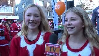 Santa Run Waalwijk 2018 - Langstraat TV