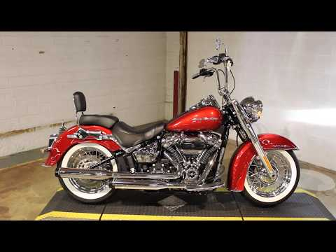 2018 Harley-Davidson Softail® Deluxe 107 in New London, Connecticut - Video 1
