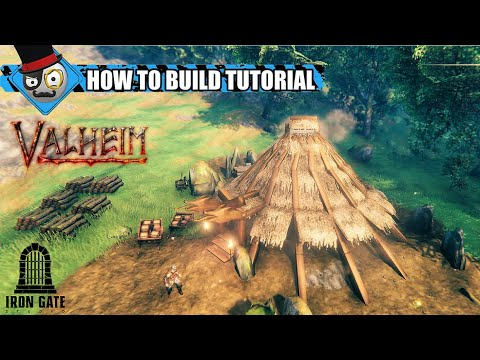 《Valheim》簡易教學 如何製作維京人風格傳統圓屋
