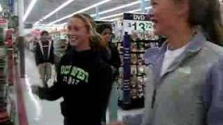 Dancing in Wal-Mart!