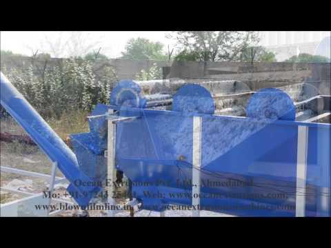 Plastic Waste Washing Line