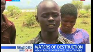 News Desk: Nyakach residents counting losses after heavy rains