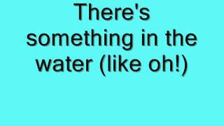 example Something in the Water lyrics
