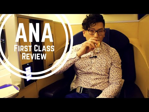 $15,000 AIRPLANE SEAT | ANA FIRST CLASS REVIEW
