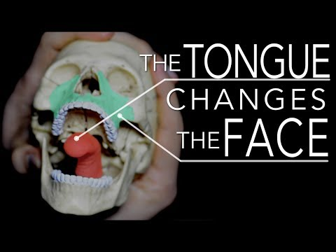 Attractive Face or Not? It depends on Tongue Posture