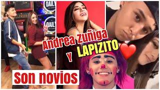 Gambar cover ANDREA ZUÑIGA ya es novia de LAPIZITO¡ GOMITA lo confirma, TRUCHISCO HABLA DEL ROMANCE ?