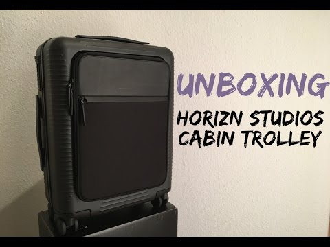"Horizn Studios Cabin Trolley ""All Black"" 