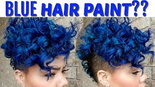 BRIGHT HAIR COLOR - HOW TO MAINTAIN BLUE HAIR